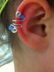 One of our customers is LOVING the her new Molly Jewels ear cuffs!